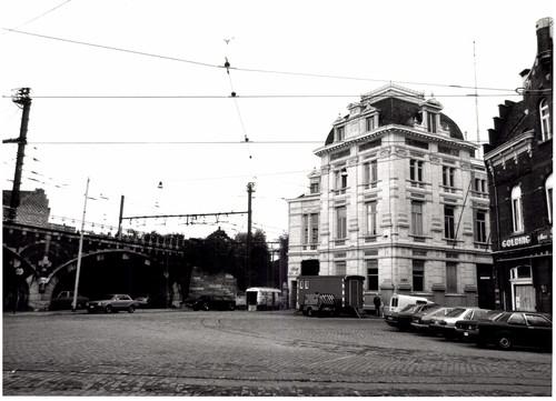 Bureau en werkplaats van de Compagnie Générale des Tramways d'Anvers