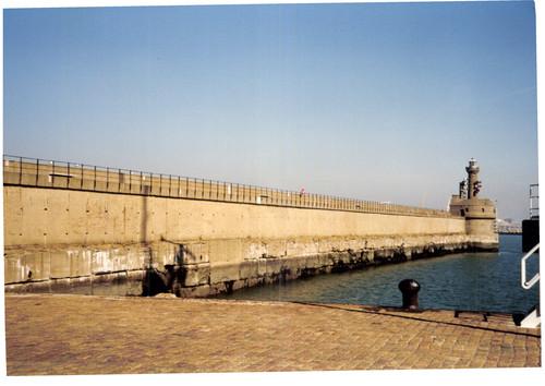 Brugge Leopold II-dam zonder nummer Havendam Musoir met vuurtoren