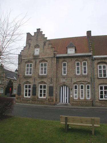 Merkem Kouterstraat 26 Gemeentehuis