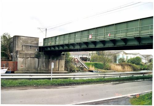 Diksmuide IJzerdijk zonder nummer dubbele spoorwegbrug over de IJzer