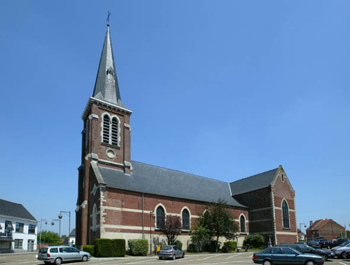 Ternat Kerkstraat zonder nummer kerk