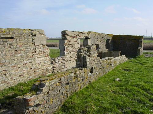 Ramskapelle: Krekemolenbrug: Bakstenen constr