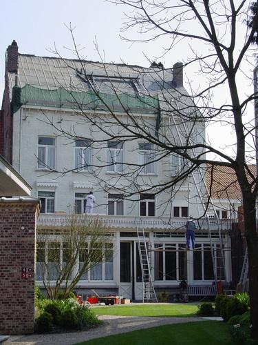 Poperinge: Talbot House: Achterkant exterieur