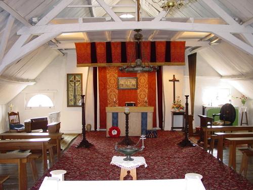 Poperinge: Talbot House: Interieur: Upper Room
