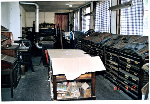 Woning en drukkerij Maurits Sacré