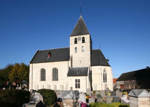 Steenokkerzeel de Kerchhove d'Exaerdestraat zonder nummer kerk