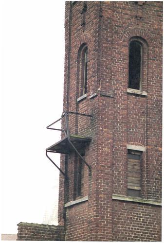 Wervik Leiestraat 24 Eclectisch torentje