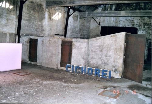 Cichoreifabriek en twee villa's