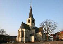 Zaventem Kerkplein Sint-Martinuskerk (https://id.erfgoed.net/afbeeldingen/34989)
