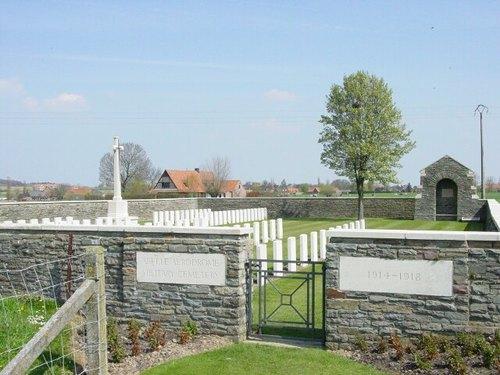 Abele: Abeele Aerodrome Military Cemetery