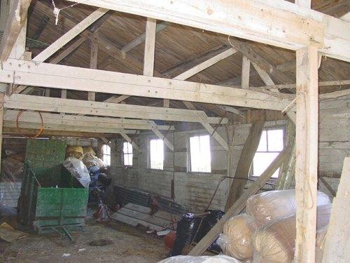 Houten barak sanatorium De Lovie