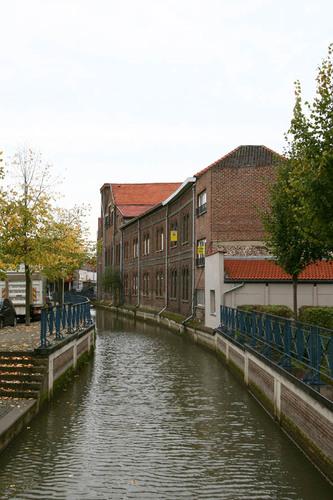Tienen Sint-Katharinastraat 19 kant Huidevettersstraat