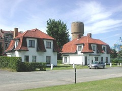 Twee sluiswachterswoningen