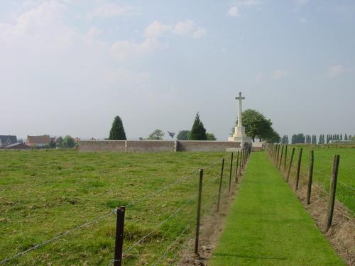 Reningelst: Reninghelst New Military Cemetery: Overzicht
