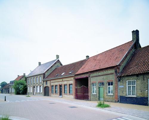 Eenheidsbebouwing uit eind 19de eeuw