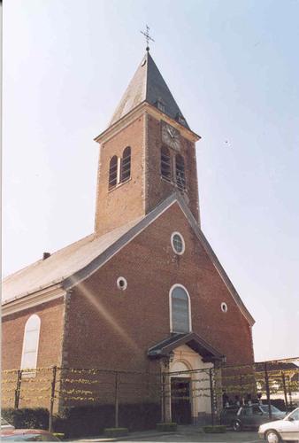 Zwevegem Otegemplaats zonder nummer Parochiekerk Sint-Amandus en Sint-Anna