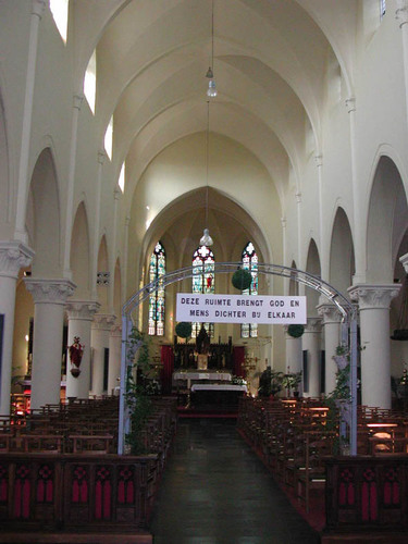 Zwevegem Kerkstraat 1 Interieur van de Sint-Elooiskerk