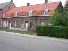 Eenheidsbebouwing van vijf arbeiderswoningen