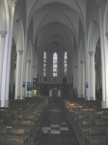 Deerlijk Kapelstraat 2 Parochiekerk Onze-Lieve-Vrouw Onbevlekt Ontvangen en Sint-Lodewijk