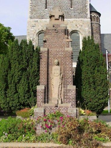 Geluwe: Sint-Denysplaats: Gedenkzuil