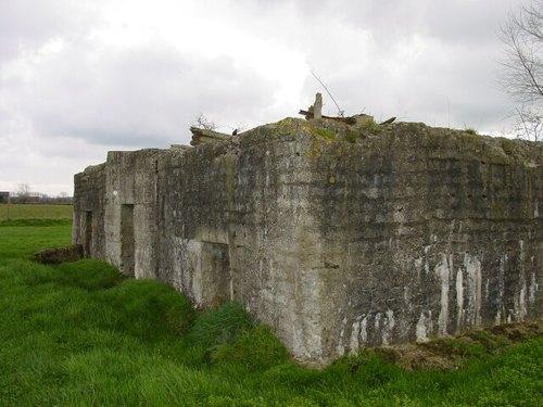 Poperinge: Brabantstr: betonconstr: zijlings