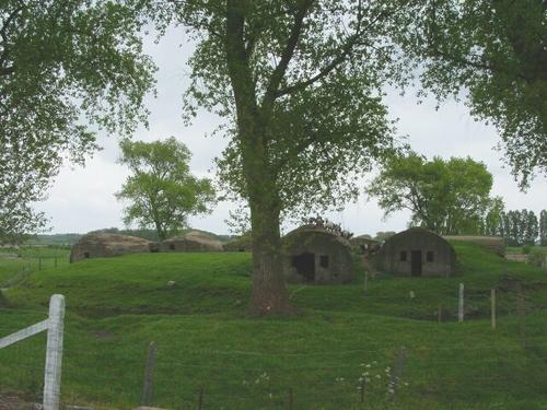 Zeven schuilplaatsen Langhof Farm
