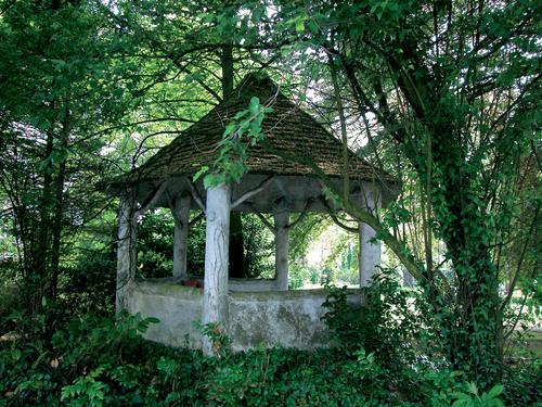 Tuin van een herenhuis uit 1848