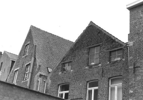 Leuven Vaartstraat 17-19 achtergevels