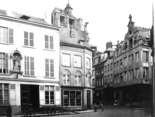 Leuven Mechelsestraat 10-12-14