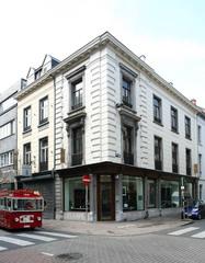 Gekoppelde winkelhuizen in neoclassicistische stijl