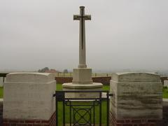 Britse militaire begraafplaats Lone Tree Cemetery