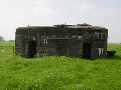 Duitse bunker hoeve Hoogpoort