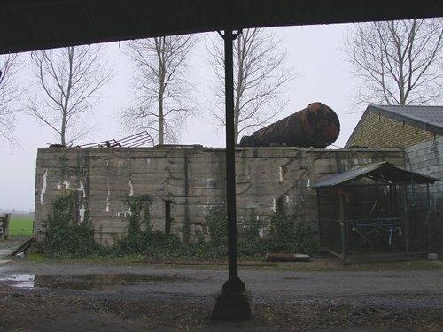 Diksmuide Leke 18 Duitse bunker