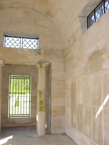 Zonnebeke: Polygon Wood: New Zealand Memorial: Interieur 2