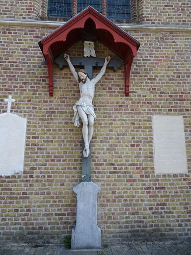 Jabbeke Vedastusstraat 69 Crucifix