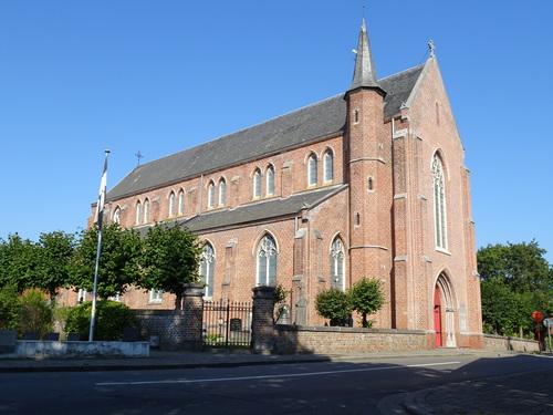 Jabbeke Kerkeweg 1 zuid-oostzijde