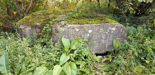 Leuven Lijnloperspad: bunker van de KW-linie