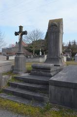 Het graf en grafteken Carpentier-Huybreghts