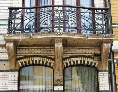 Antwerpen De Marbaixstraat 36 balkon