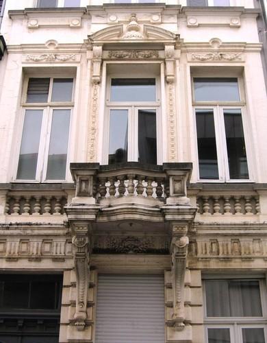 Antwerpen Lange Beeldekensstraat 18 balkon