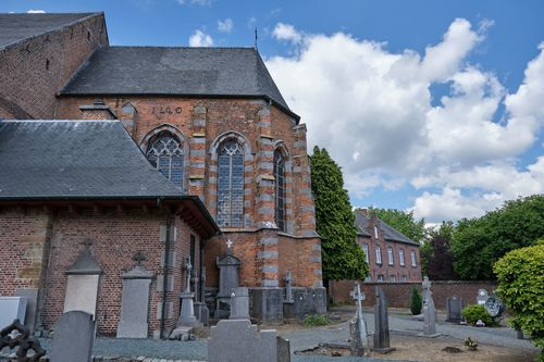 Herne Brikstraat 2 parochiekerk en pastorie