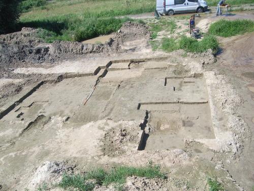 Opgraving Bergenmeersen zone B - cluster steentijd