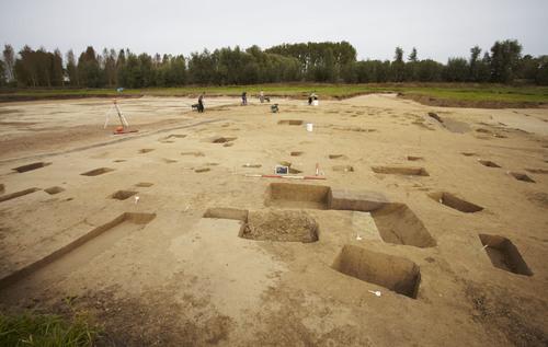 Overzicht opgraving Wijmeersen 2 (2012)