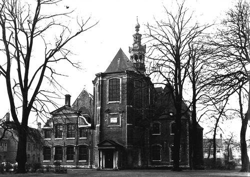 Gent Begijnhofdries zonder nummer oostgevel