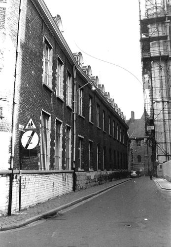 Gent Biezekapelstraat 2-4 zijde Kapittelstraat
