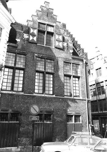 Gent Kraanlei 2 zijgevel
