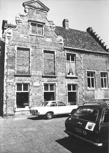 Gent Lievekaai 1, Sint-Widostraat 16-20 zijgevel