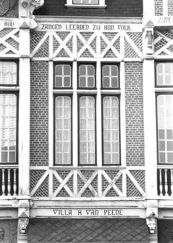 Gent Vlaamsekaai 90-91 detail