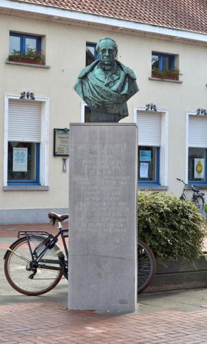 Bronzen borstbeeld