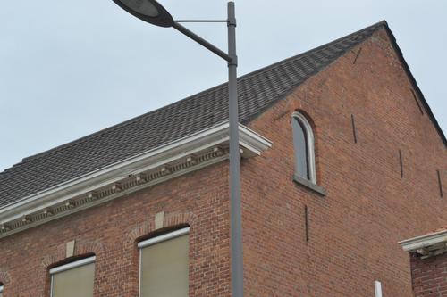 Sint-Gillis-Waas Sint-Gillis Kerkstraat 5 zijgevel